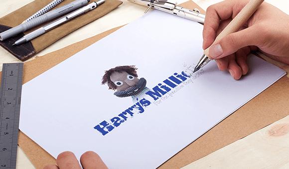 Branding - Harry's Miilion