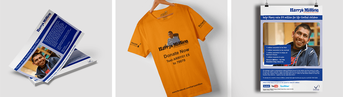 Marketing materials - Harry's Million