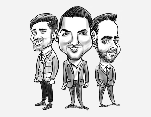 Brand Caricatures - Solution Recruitment