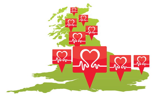 Across the UK - British Heart Foundation